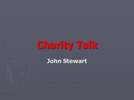 Charity Talk John Stewart. Who are we? ► HACAN represents the residents under the Heathrow flight paths ► AirportWatch is the national network which brings.
