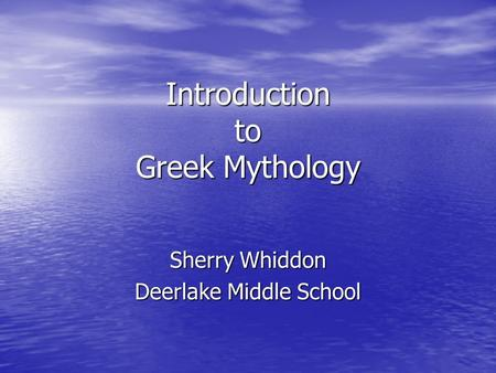 intro to greek mythology influence The second section looks at the relationship between ancient greek myth and   of the ancient world and provides an in depth discussion of the influence of.
