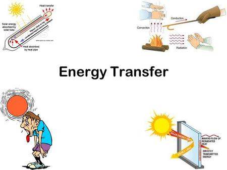 Energy Transfer. What's the difference between temperature & heat?? Temperature is the measure of the average kinetic energy of the particles in a substance.