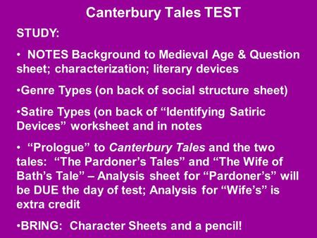 the prologue to the canterbury tales essay A summary of general prologue: introduction in geoffrey chaucer's the canterbury tales learn exactly what happened in this chapter, scene, or section of the.