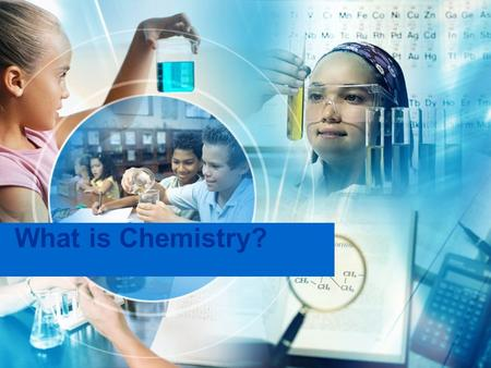 What is Chemistry?. Chemistry Is….. Chemistry is the study of matter and the changes that it can undergo.