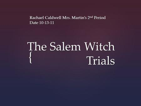 Midnight Mysteries: Salem Witch Trials (2010) iPad box cover art ...