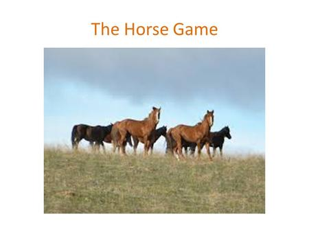 The Horse Game. Colic Where does colic occur? In the horse's intestines What are some things that cause colic? Change in feed; lack of water; eat a foreign.