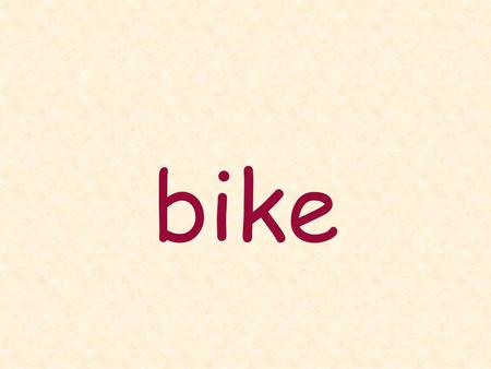 Bike. are at can big cannot am book books.