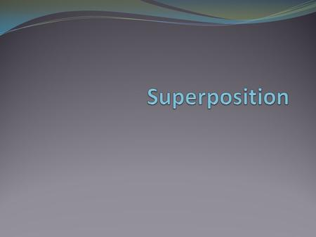 Objective of Lecture Introduce the superposition principle. Chapter 4.3 Fundamentals of Electric Circuits Provide step-by-step instructions to apply superposition.