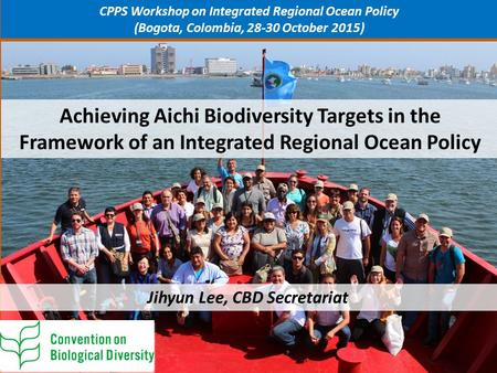 CPPS Workshop on Integrated Regional Ocean Policy