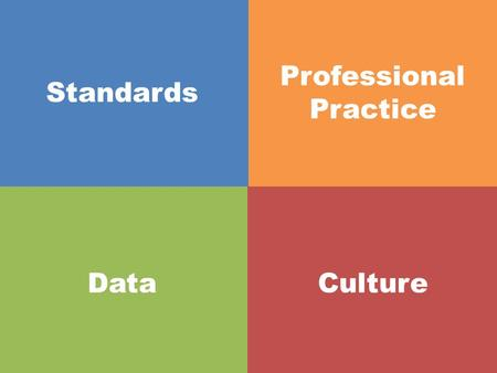 Standards Professional Practice DataCulture. The Story of Standards.