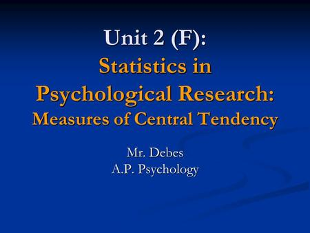 statistical research in psychology Research psychology encompasses the study of behavior for use in academic settings, and contains numerous areas it contains the areas of abnormal psychology, biological psychology, cognitive psychology, comparative psychology, developmental psychology, personality psychology, social psychology and.