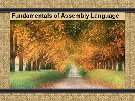 Click to add Title Comunicación y Gerencia Click To add Subtitle Click to add Text Fundamentals of Assembly Language.