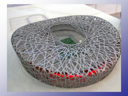 Olympic Costs China Builders broke ground in December for the stadium, whose latticework of girders, dubbed the Bird Cage The National Stadium, designed.