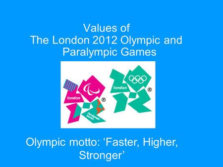 an introduction to the comparison of the london 2012 olympic and paralympic games