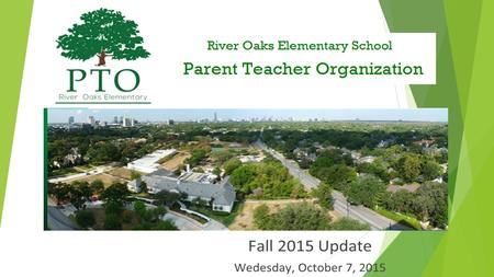 Who is the PTO? Parents Teachers Faculty and Professional Staff.