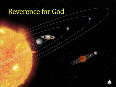 Reverence for God. A Godless Age  Nothing new, Psa. 36:1; Rom. 1:20-21; 3:18; 2 Tim. 3:1-5  Lack of reverence for God, for His holiness and His word.