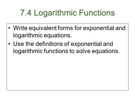 Solving exponential equations using logarithms: base-2