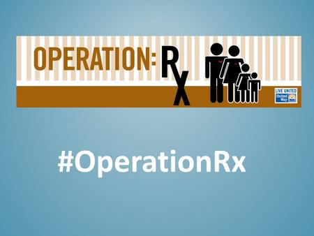 #OperationRx. Antonio was in danger of losing his job as a busboy because he couldn't afford the knee surgery that would allow him to walk & stand St.