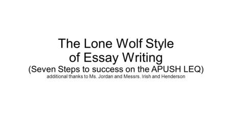 passion to succeed essay