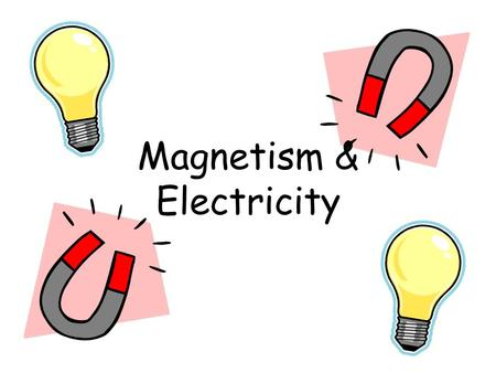 Magnetism & Electricity. Science Notebook Format Date: Time: Title of Lesson Question: This question focuses the inquiry of the lesson. Prediction: Sometimes.