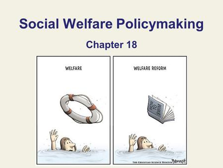Social Welfare Policymaking Chapter 18. Social Welfare Programs Two Main Types: Entitlement Programs: Government benefits that certain qualified individuals.
