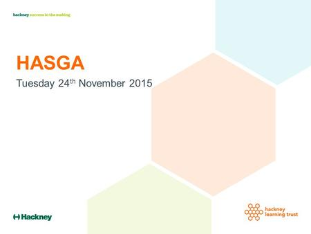 HASGA Tuesday 24 th November 2015. Strategy: No Need to Exclude ….work towards the position where the needs of all young people are addressed, and where.