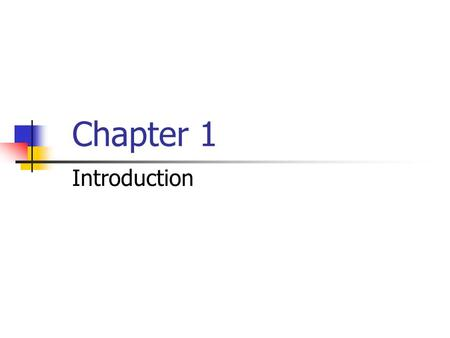 Chapter 1 Introduction. The 3 Dimensions of Operations.