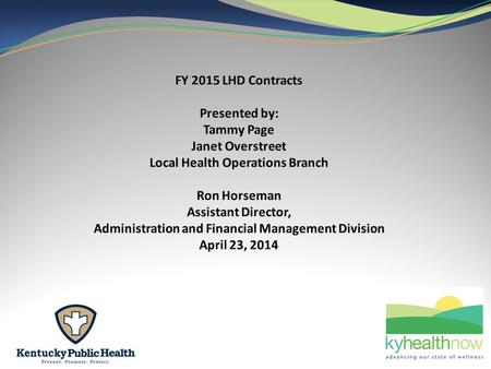 902KAR 8:170 Local health department financial management requirements Section 7 Contracting for services.