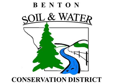 B E N T O N CONSERVATION DISTRICT. Empowering irrigators to manage limited groundwater resources, The Little Rock Creek project. Goals of the project.