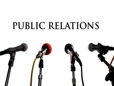 Public relations It's the art and science of talking to the right audience in the right voice. It influences and shapes a company's image, reputation,