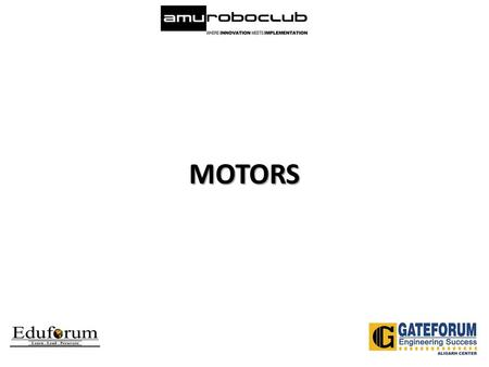 MOTORS. Definition Of Motor That powered by electricity or internal combustion, that supplies motive power for a vehicle or for some other device. A device.