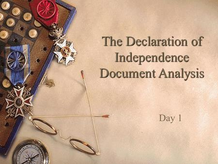 an analysis of the declaration of independence in america Home → sparknotes → history study guides → america: summary and analysis preamble study questions the declaration of independence -suggestions for.