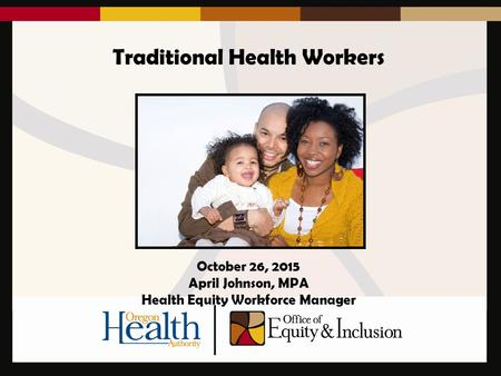 Traditional Health Workers