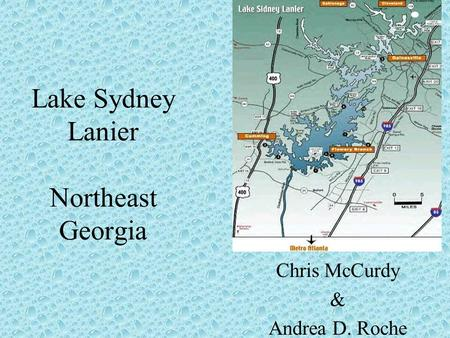 Lake Sydney Lanier Northeast Georgia Chris McCurdy & Andrea D. Roche.