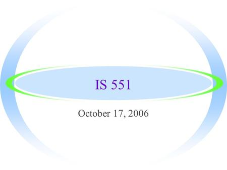 IS 551 October 17, 2006. Upcoming high school visits ·Issues ·Language/situations in YA fiction ·Costs of reference materials and databases ·Monitoring.