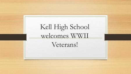 "Kell High School welcomes WWII Veterans!. James J. Mehornay – ""Jim"" Born 1923 at Harper Hospital in Detriot, Michigan. Joined navy at 17, became a coreman/medic."