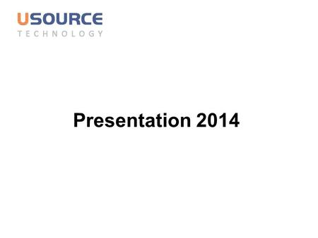 Presentation 2014. 2 Catalogue 1 1 Company overview 2 2 Operation system 4 4 Product overview 3 3 Advantages.