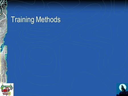 Training Methods. Lecture Conveys information by talking With or without visual aids No participation by learners No feedback to the presenter.