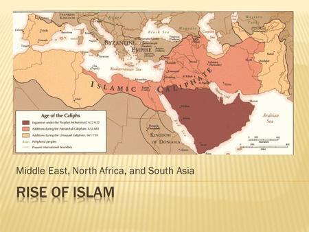 Middle East, North Africa, and South Asia