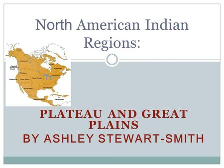 North American Indian Regions:
