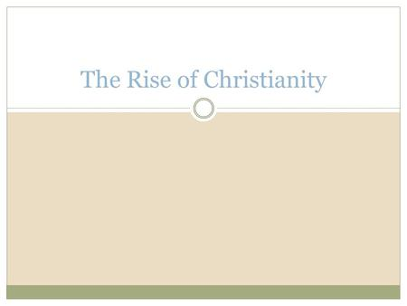The Rise of Christianity. Quiz 1. A positive reform Julius Caesar enacted on the Roman Empire was granting _____________ to people off the peninsula of.