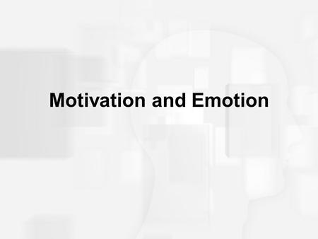 Motivation and Emotion. Motivation  Dynamics of behavior that initiate, sustain, direct, and terminate actions.