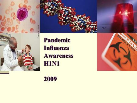 Pandemic Influenza Awareness H1N1 2009 Comstock.com CDC Comstock.com.