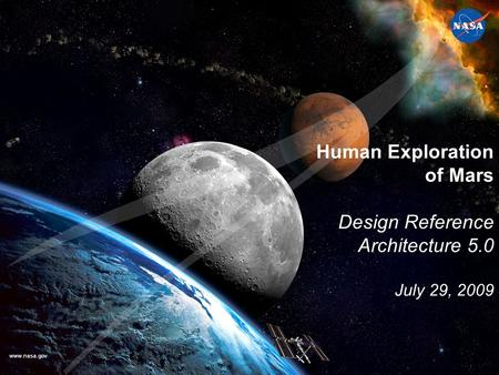 Human Exploration of Mars Design Reference Architecture 5