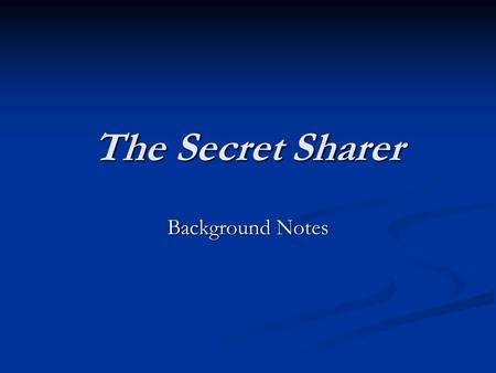the secret sharer critical essays