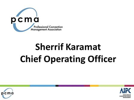 Sherrif Karamat Chief Operating Officer. Overview Brief Overview of PCMA Summary of Three (3) Recent Surveys Other Key Points.