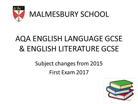 AQA ENGLISH LANGUAGE GCSE & ENGLISH LITERATURE GCSE