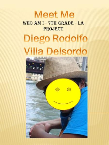 Who am I - 7th grade - la project. I usually wake up around: School day:6:50 Weekend:7:00-8:00.