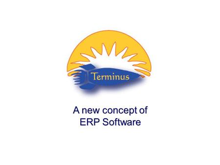  Copyright 2005 – CHRONOS - ITALY A new concept of ERP Software.
