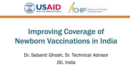 Improving Coverage of Newborn Vaccinations in India