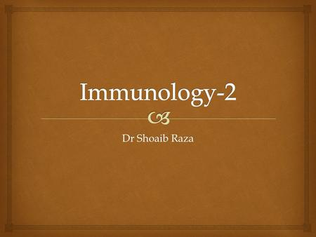 Dr Shoaib Raza.   B lymphocytes are also called as B-Cells  Develop in the yolk sac  Migrate to bone marrow  Processing, differentiation and maturation.
