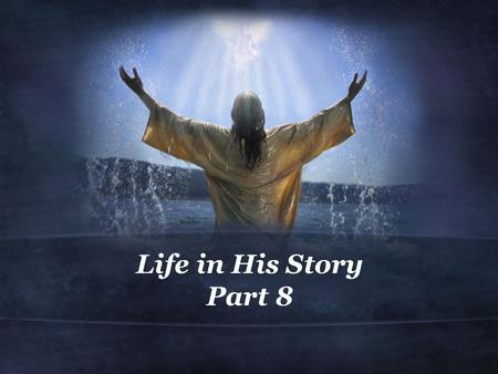 Life in His Story Part 8. 1 Thessalonians 4:1-8 (NIV) 1 Finally, brothers, we instructed you how to live in order to please God, as in fact you are living.