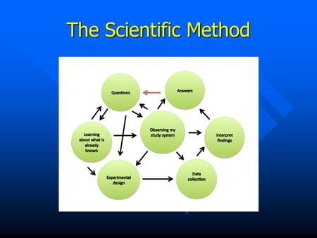 The Scientific Method.